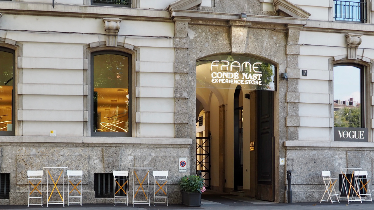 Frame Condé Nast to open to the public